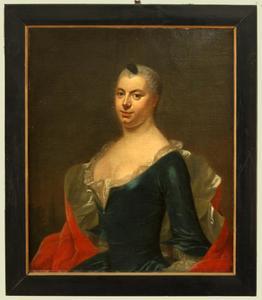 Portret van Sara de la Court (1733-1762)