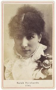 Portret van Sarah Bernhardt (1844-1923)