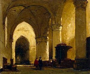 Interieur van de kerk te Maassluis