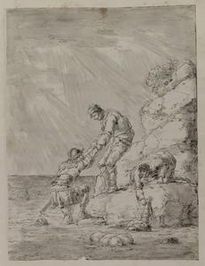 De schipbreuk van koning Antiochus