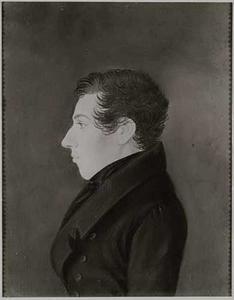 Portret van waarschijnlijk Dirk de Kater van Gijn (1804-1885)