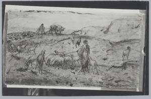Schaapherders bij Jeruzalem