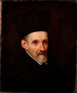 Portret van een jezuïet