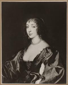 Portret vanHenriëtte Maria de Bourbon, koningin van Engeland (1609-1669)