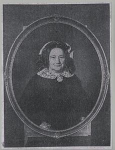 Portret van Johanna Eliza Huber (1805-1882)