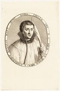 Portret van Godfried (Govaert) van Duynen (1502-1572)