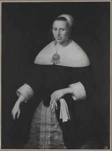 Portret van een vrouw, 1660 of 1661