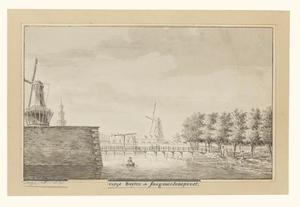 De Singelgracht naast het Sagmolenpoort in Amsterdam