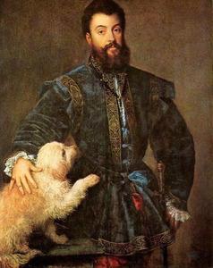 Portret van hertog Federico (II) Gonzaga van Mantua (1500-1540)