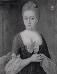 Portret van Anna Johanna Judith Sloet tot Plattenburg (1756-1816)