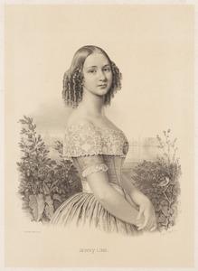 Portret van Johanna Maria Lind (1820-1887)