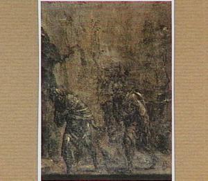 Petrus en Johannes bij het graf van Christus