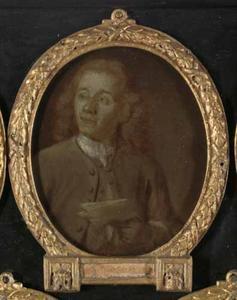Portret van Abraham de Haen II  (1707-1748)