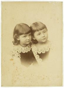 Portret van Catharine Francoise Bijleveld (1879-1929) en Frank David Bijlevels (1879-?)