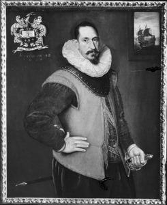Portret van Hendrik Hartman (1561-1632)