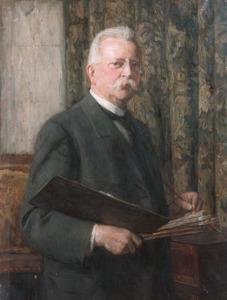 Portret van Nicolaas van der Waay (1855-1936)