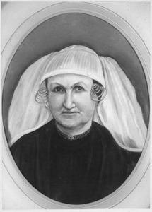 Portret van Maartje Kievit (1825-1905)