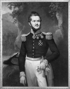 Portret van Hubert Joseph Jean Lambert de Stuers (1788-1861)