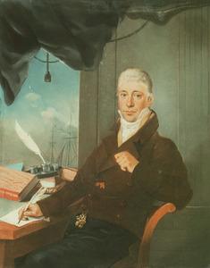 Portret van David Haim Henriques de Castro (1776-1845)