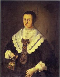 Portret van een 37-jarige vrouw