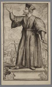 Portret van Johannes Huss (1370-1415)