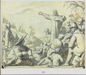 Christus predikend (Johannes 6)