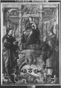 Maria met kind, de HH. Lucas en Egidius
