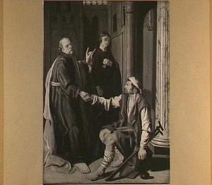 Petrus geneest de lamme bij de tempelpoort