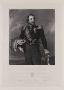 Portret van koning Willem III