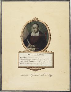 Portret van de dichter Adam van Lintz