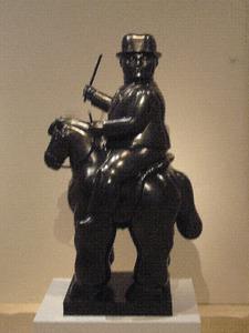 Man te paard (medium)