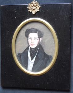 Portret van Leon Bernhard Gompertz (1808-1877)