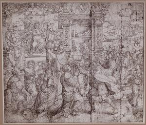 Allegorie op de stichting van Rome