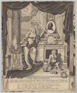 Memorieprent voor Benjamin Frieswijk (1731-1809)