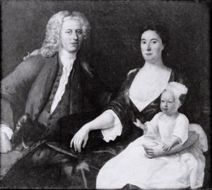 Portret van Pieter Baartmans (1699-1766), Judith Carpentier (1706-1791) en Johannes Baartmans (1729-1781)