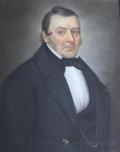 Portret van Bastiaan Abraham Kramer (1795-1884)
