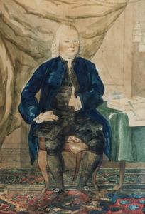 Portret van Johannes Mees