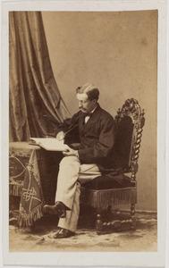 Portret van Eduard van Aylva baron Rengers (1835-1866)