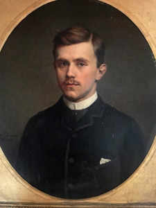 Portret van Philip Pelgrim Carel Henri Everts (1861-1886)