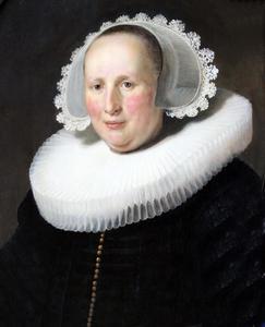 Portret van Maertgen van Bilderbeecq (ca. 1606-1652)