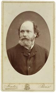 Portret van waarschijnlijk Alfred van der Vliet (1817-1896)