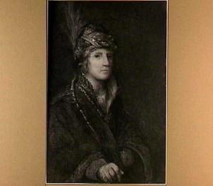 Portret van een onbekende man met tulband