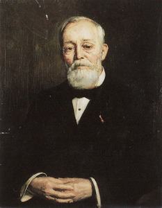 Portret van A.J. Lievegoed (1841-1923)