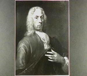 Portret van Arend Maartenz de Heer (1688-1753)