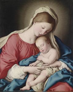 Madonna met slapend kind
