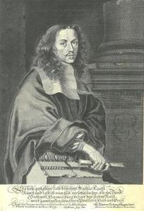 Portret van Daniel Preissler (1627-1665)