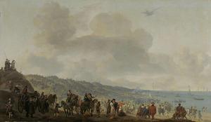 Het vertrek van Karel II, koning van Engeland uit Scheveningen, 2 juni 1660
