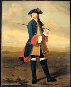 Portret van Ludolf Backhuijzen II (1717-1782)