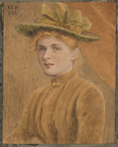 Portret van Mary Fowler Henry (1861-1955)