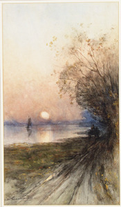 Avond aan de Rijn